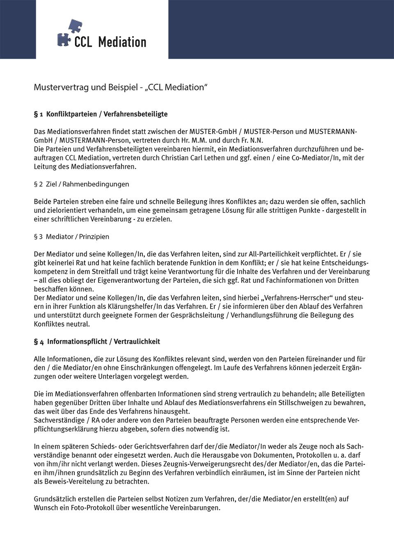 CCL / Christian Carl Lethen - Creativ Conflikte Lösen